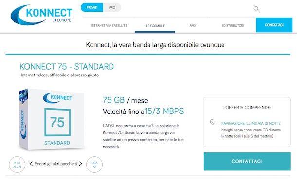 Offerte Internet satellitare
