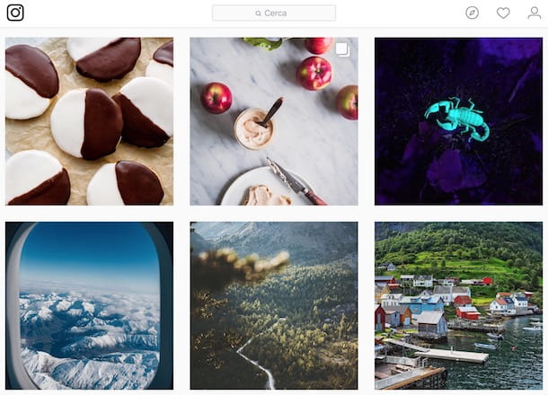 Contenuti più popolari su Instagram