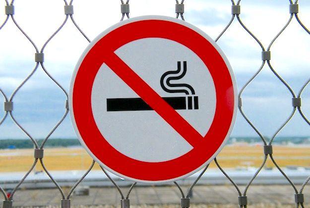 Se smesso il fumo di esso è possibile una sigaretta