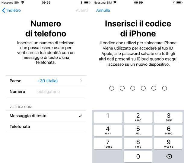 Come attivare iCloud su iPhone