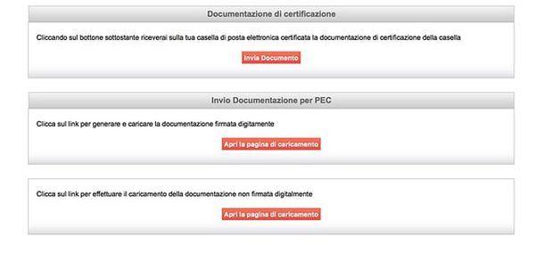 Come aprire una posta elettronica certificata