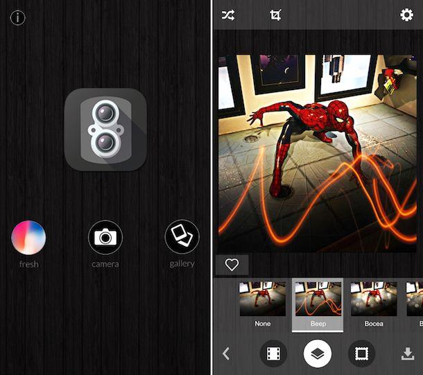 App per effetti foto