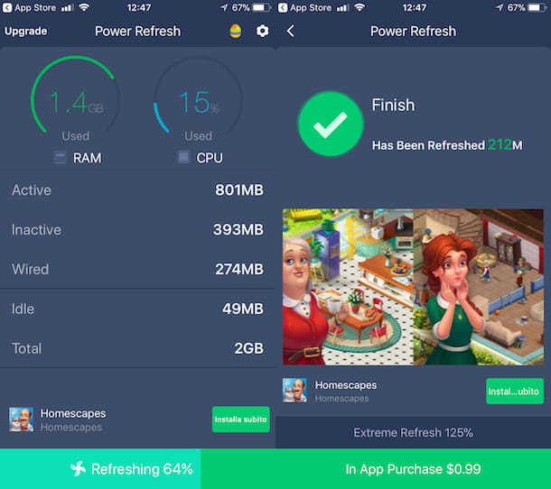 App per pulire la memoria