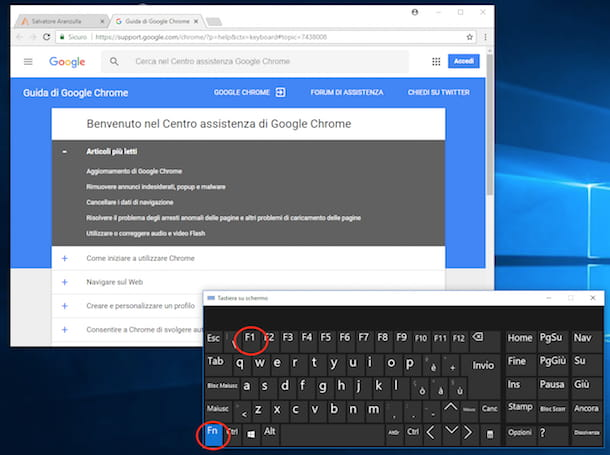 Come ottenere assistenza in Windows 10