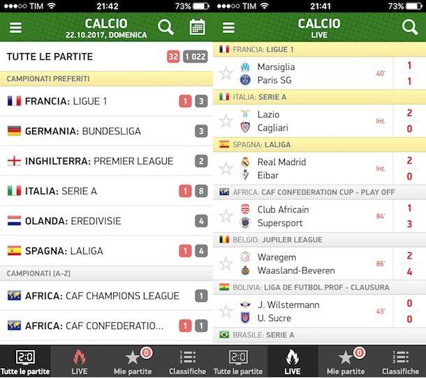 Serie A Tim Calendario E Risultati.App Per Il Calcio Salvatore Aranzulla