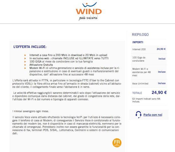 Verifica copertura fibra ottica Infostrada