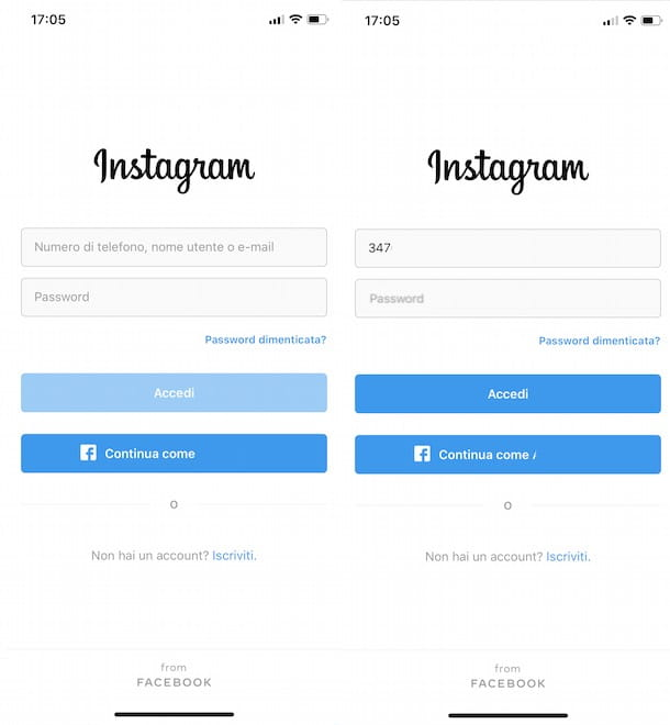 Come recuperare account Instagram senza email