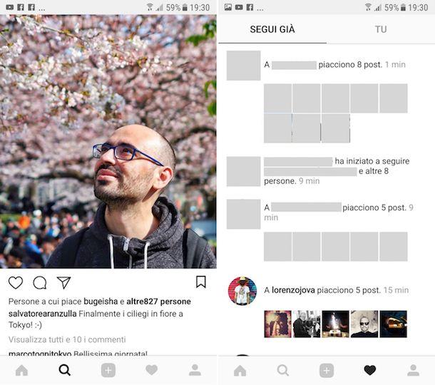 Come vedere i Mi piace su Instagram di un amico