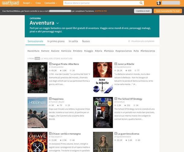 Siti per leggere libri online gratis