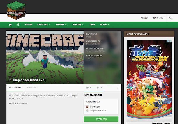 Come mettere le mod su Minecraft