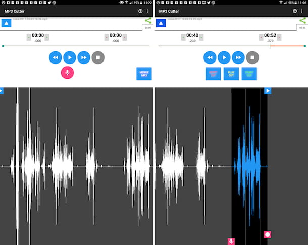 App per tagliare la musica