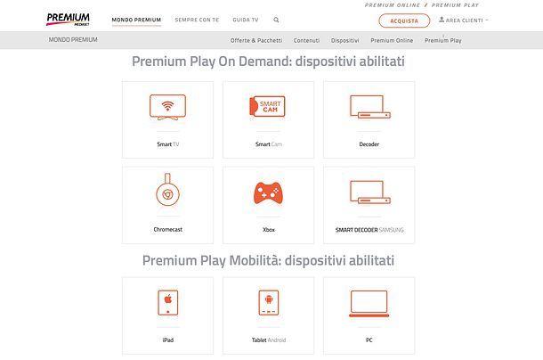 Premium Play come funziona