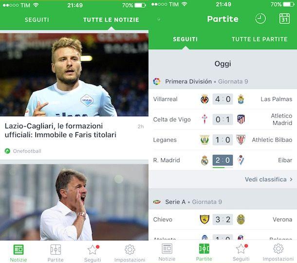 App per il calcio | Salvatore Aranzulla