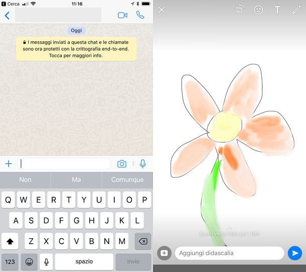 Come disegnare su WhatsApp