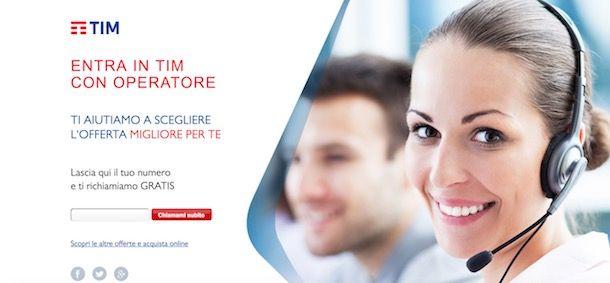 Servizio clienti TIM: tutti i contatti   SosTariffe.it