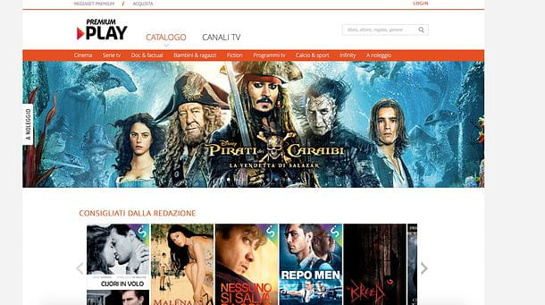 film da mediaset premium play su pc