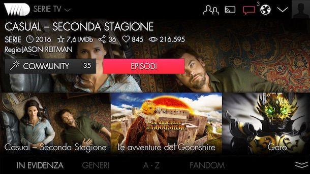 App per guardare serie TV