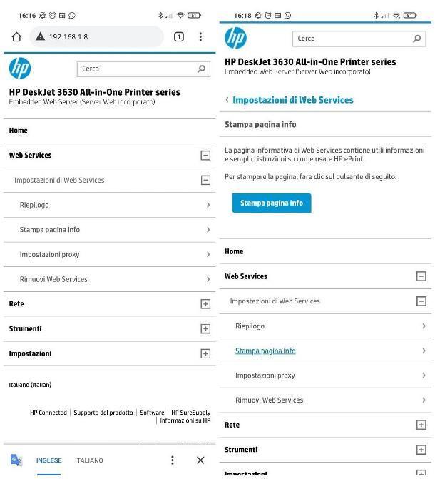 Come stampare dal cellulare alla stampante HP con WiFi