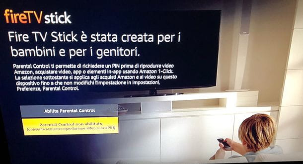 Installazione Amazon Fire TV Stick