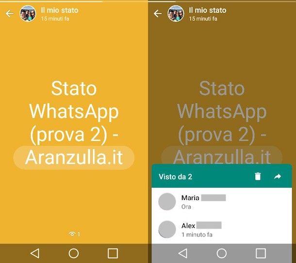 Scoprire chi guarda il tuo Stato su WhatsApp