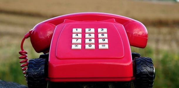 Immagine di un telefono