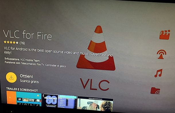 Installazione app Amazon Fire TV Stick