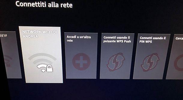 Installazione Amazon Fire TV Stick