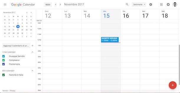 Calendario Condiviso Gmail.Google Calendar Come Funziona Salvatore Aranzulla