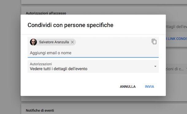 Calendario Appuntamenti Condiviso.Google Calendar Come Funziona Salvatore Aranzulla