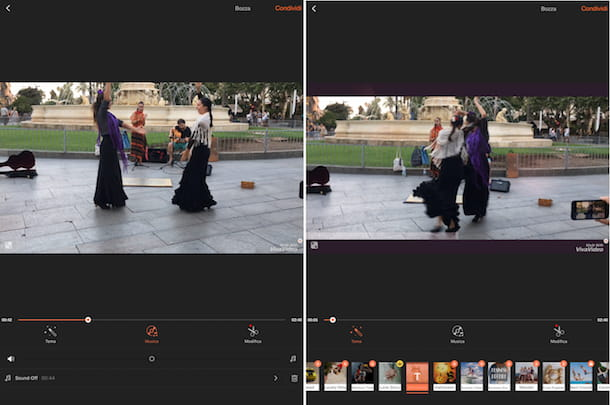 App per aggiungere musica ai video