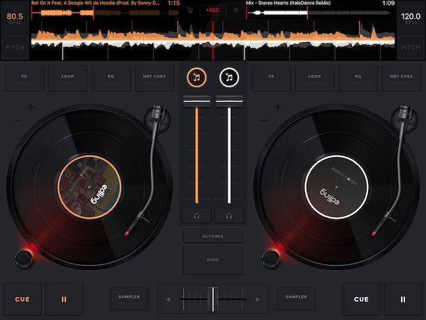 App per mixare le canzoni