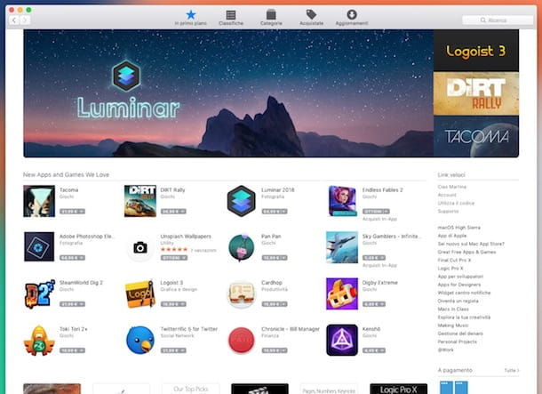 App per Mac