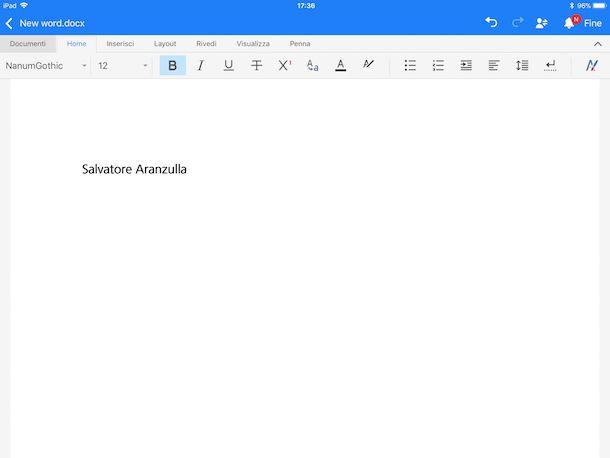 App per scrivere testi