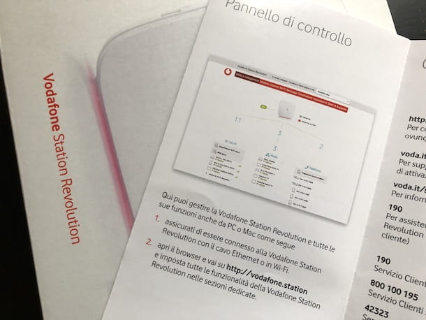 Documentazione Vodafone Station
