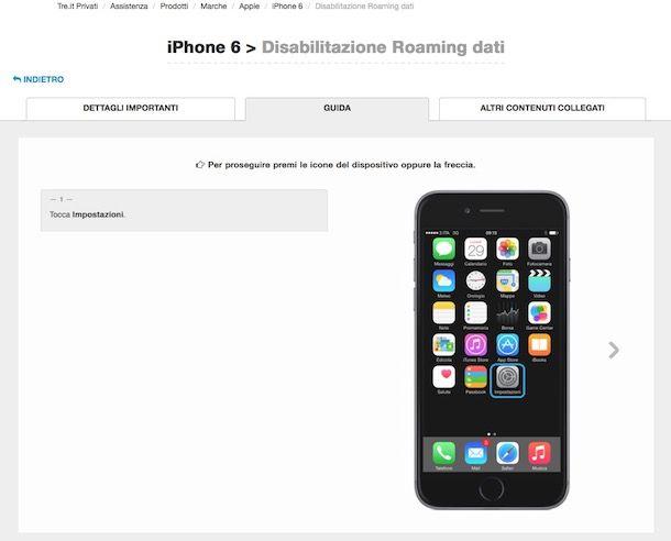 Come disattivare il roaming