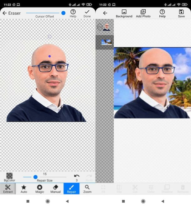 Altre app per cambiare sfondo
