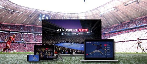 Dispositivi compatibili con Eurosport Player