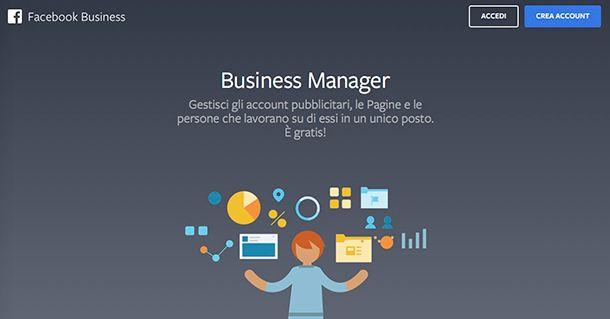 Che cos'è un account business