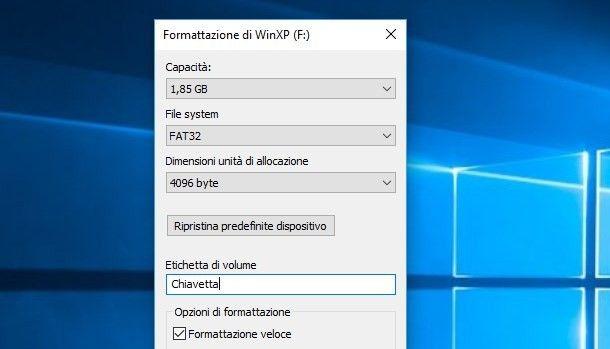 Programmi per formattare in FAT32
