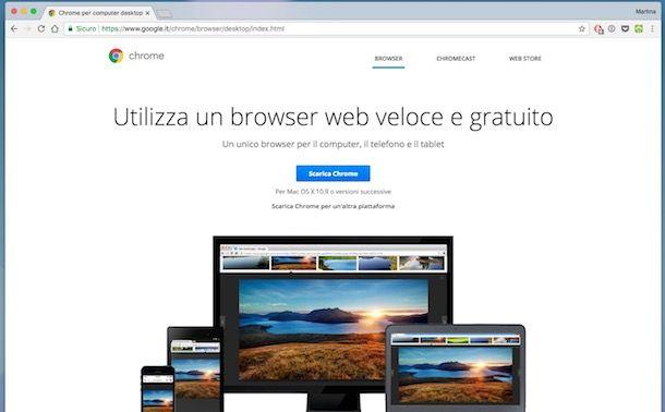 Che cos'è il browser