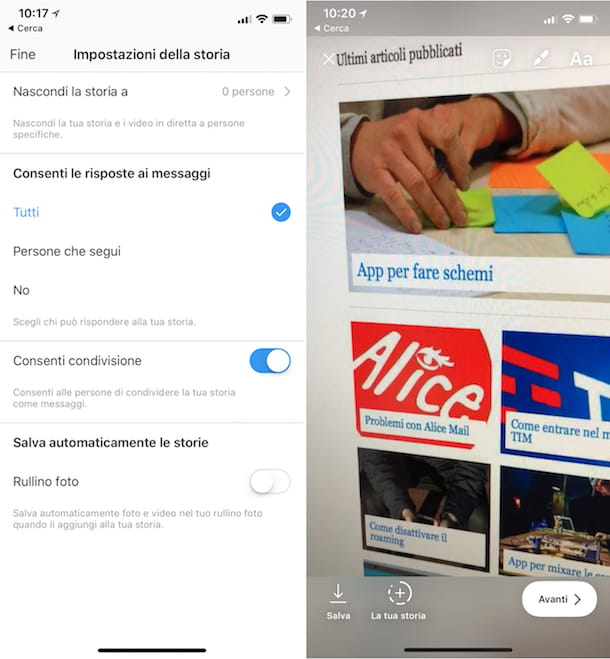 Come condividere video su Instagram