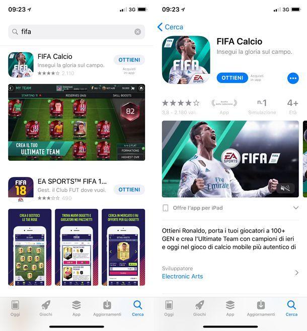 Come scaricare FIFA Mobile