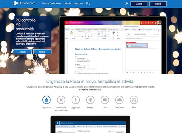 video gratis p creare email