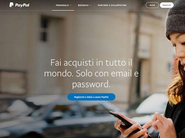 Pagamento PayPal: come funziona