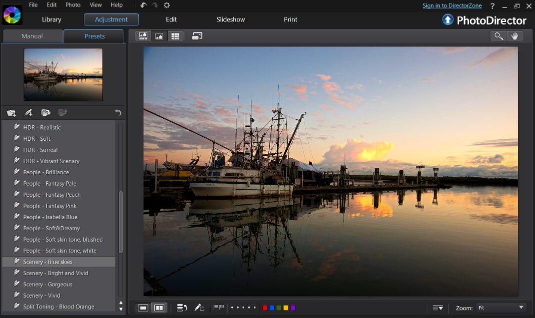 Programmi per fotografi - PhotoDirector