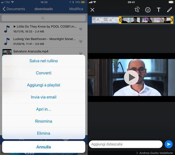 Come condividere un video da Facebook a WhatsApp