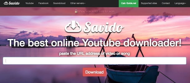 Come scaricare video da Internet senza installare programmi