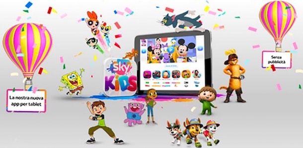 Dispositivi compatibili con Sky Kids