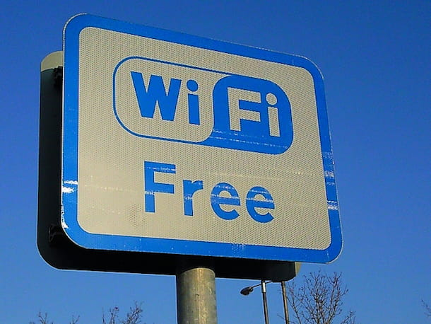 Come connettersi al WiFi