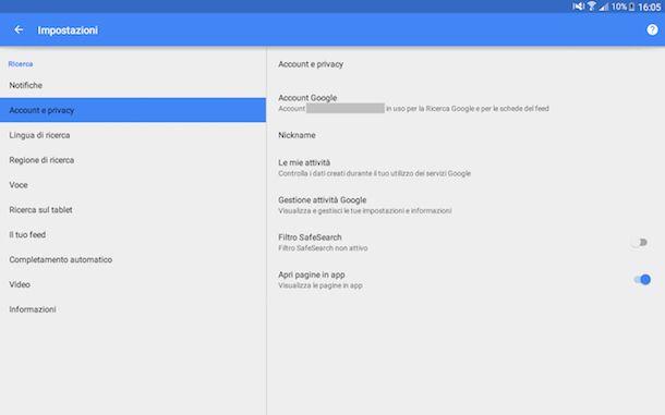 Come vedere cronologia Google Android